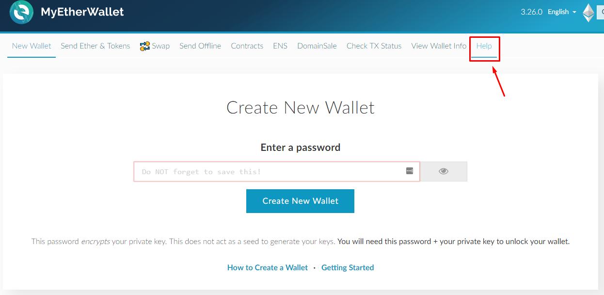 Paper Wallets für Ethereum Schritt 2